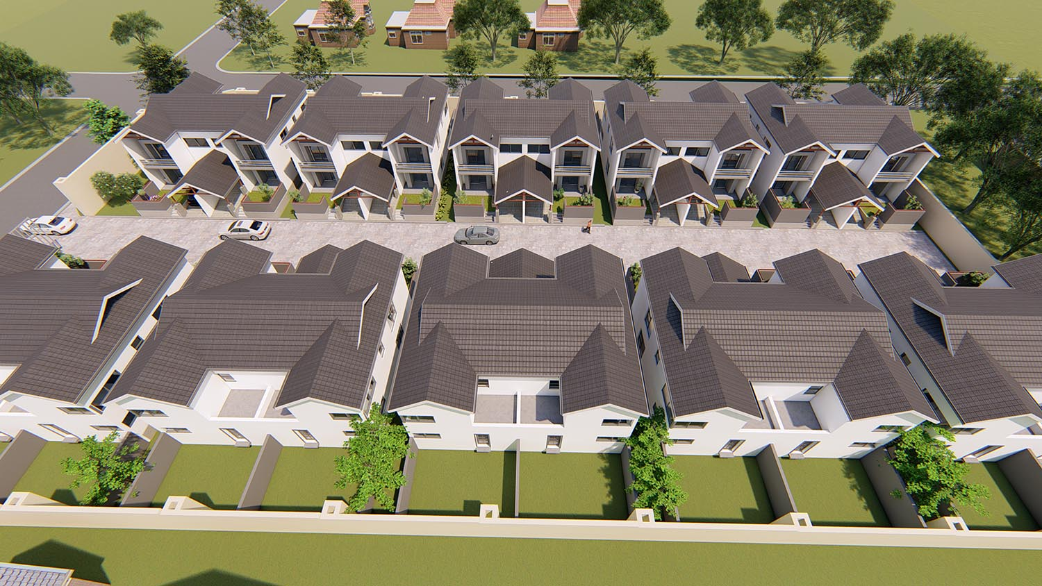 A safe and attractive enclave inRandburg, with easyaccess toneighbours, schools, shopping centres and work.